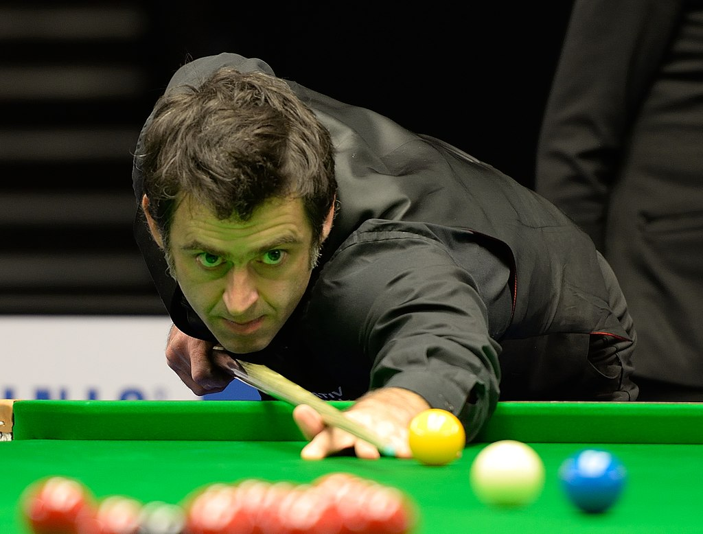 Foto Ronnie O' Sullivan ©Der Hexer, Wikimedia Commons, CC-by-sa 4.0